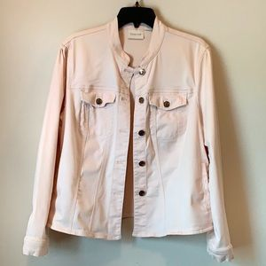 Chico's Blush Denim Jacket